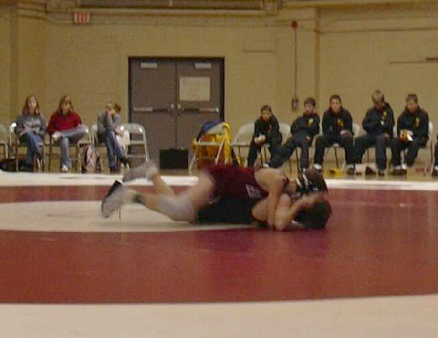 dual meet wrestling rules for middle school